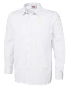 Boys White Shirt (Twin Pack)