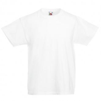 White T-Shirt In Plain Cotton