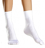 Girls White Ankle Socks - 5 Pair Pack
