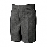 Grey Elasticated Shorts