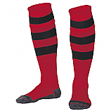 Unisex PE Socks With Red And Black Stripe
