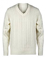 Plain Cricket Sweater