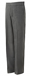 Boys Elasticated Grey Trousers