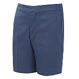 Navy Elasticated Shorts (DL946)