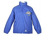 Royal Zip Fleece with Logo