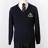 Navy Unisex Jumper with Logo