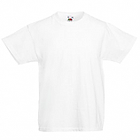 White T-Shirt In Plain Cotton