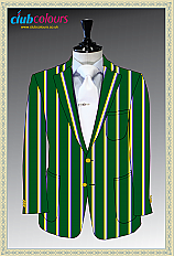RUGBY CLUB BLAZER WITH LOGO POCKET