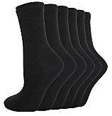 Black Cotton Socks (pack of 5)