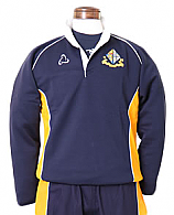 Navy and Yellow Rugby Tops with Logo