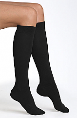 Black Knee High Socks  (Twin Pack)