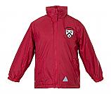 Red Reversible Jacket/Logo STM