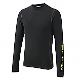 Black Long or Short Sleeve Baselayer