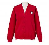 Red Cardigan/Logo STM