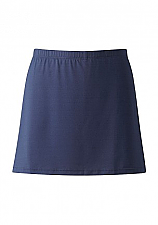 Girls Plain Navy Skort